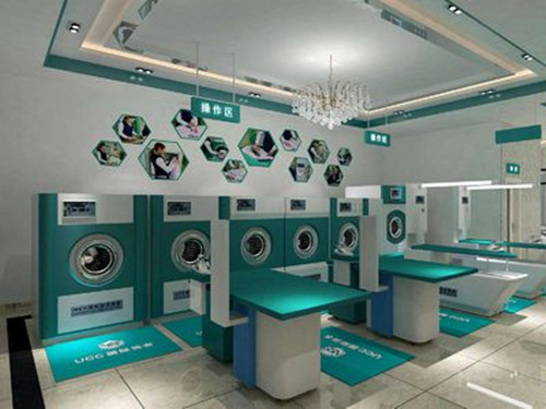 大型干洗店有些什么设备?