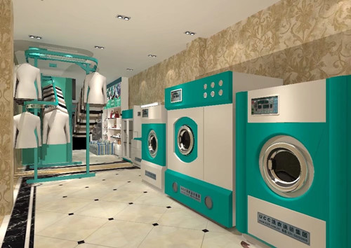 干洗店的加盟都需要些什么设备?