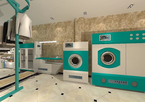 干洗设备购买全套需要准备多少钱?