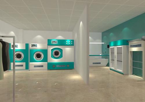 干洗设备全套购买需要准备多少钱?