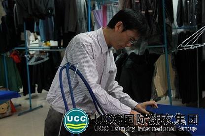 唐斯强参与UCC国际洗衣加盟商培训中